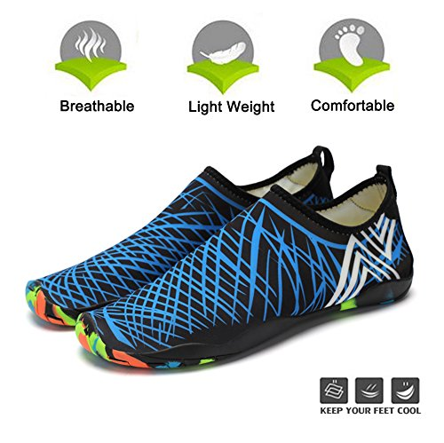 Sports Aqua Barefoot Pool Yoga Swim Shoes Water Dry Shoes Socks Blue Quick Womens Water Surf Mens Aerobics Beach Shoes for 8xqw0d8Ap