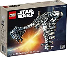 Amazon Com Lego Star Wars Nebulon B Frigate 77904 Exclusive Building Kit 459 Pieces Toys Games