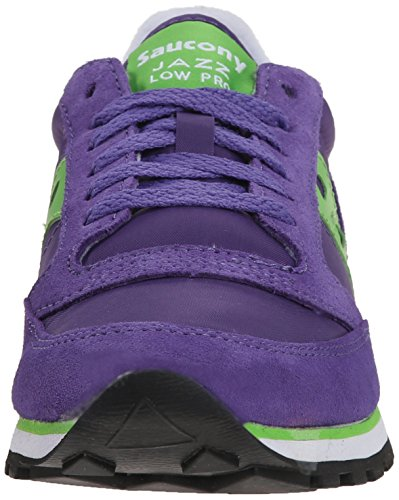 Saucony Jazz Low Pro Damen Laufschuhe - Purple/Green (40½ EU)