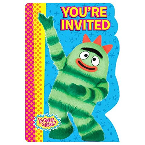 Amscan Invitations | Yo Gabba Gabba Collection | Party -