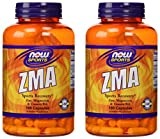 Now Sports ZMA Sports Recovery, 180 capsules, pack of 2