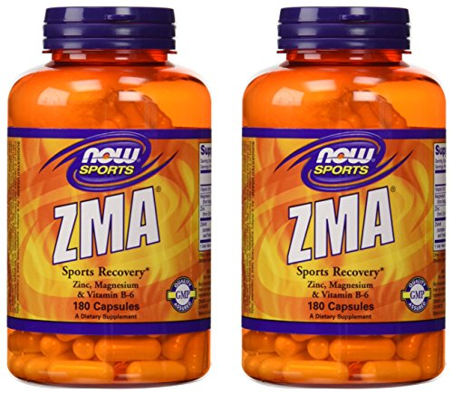 Now Sports ZMA Sports Recovery, 180 capsules, pack of 2 For Sale