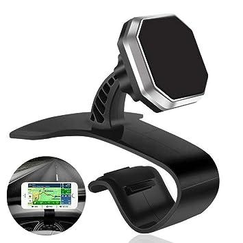 Coche Salpicadero Montaje Soporte Soporte Coche Horquilla Para Teléfono Móvil GPS Magnético