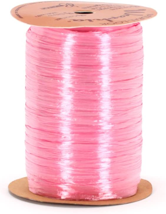 Berwick Wraphia Pearlized Rayon Craft Ribbon Purple 100-Yard Spool