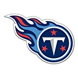Fremont Die NFL Tennessee Titans 12-Inch Vinyl Logo Magnet