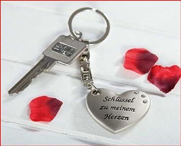 Gilde Schlüsselanhänger   Schlüssel Zu Meinem Herzen   Herz Mit Aufschrift