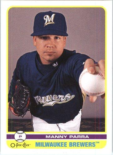 2009–O-Pee Chee Baseball Card#321 Manny Parra méthylène-Expédié en état