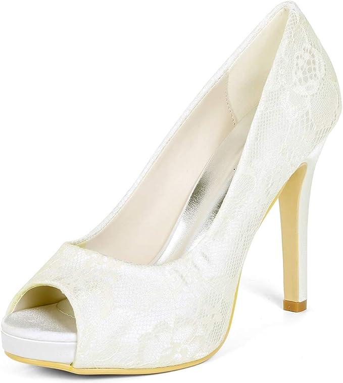 Scarpe Sposa Pizzo.Love Shoes Scarpe Da Sposa Scarpe Da Sposa In Pizzo Sandali Tacco