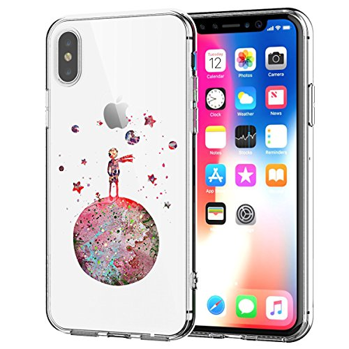 (AIsoar Compatible/Replacement fit Case iPhone XR TPU Soft Flower Printed Cute Silicone ,iPhone XR Cover Anti-shockNon-Slip Gel Bumper Clear Cute Cartoon Patterns Protective Ultra Slim (Little)