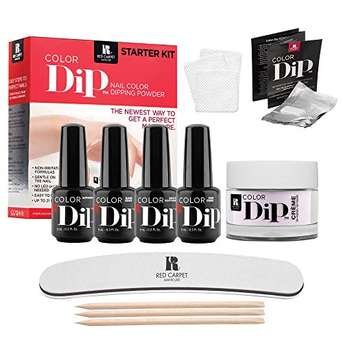 - Red Carpet Manicure Color Dip Nail Color Dipping Powder Starter Kit