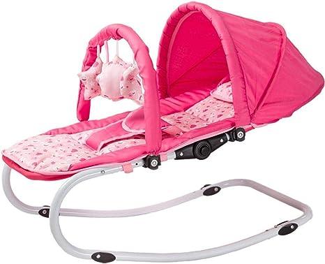 WY-Tong silla bebe Silla mecedora de bebé, música mecedora a ...