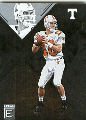 - 2017 Panini Elite Draft Picks #81 Peyton Manning Tennessee Volunteers Football Card
