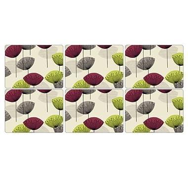 Pimpernel Dandelion Clocks Placemats - Set of 6 by Pimpernel-Portmeirion
