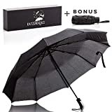 Best Mini Umbrellas - Katzendaügs Umbrella Full-Sized Umbrella with Bonus Compact Umbrella Review
