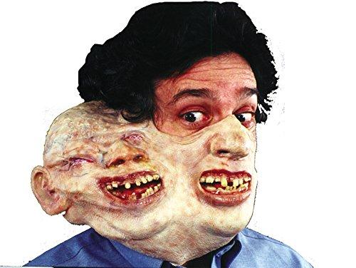 Tom Arma Freaky Duphus Dan Half Style Horror Party Latex Mask Halloween Accessory ()