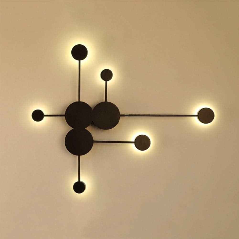 Lys Lámpara de pared Interior, LED Apliques de Pared Moderno 3000K, Bañadores de pared, para Salón Dormitorio Baño Pasillo (Blanco Cálido 24V) [Clase de eficiencia energética A]