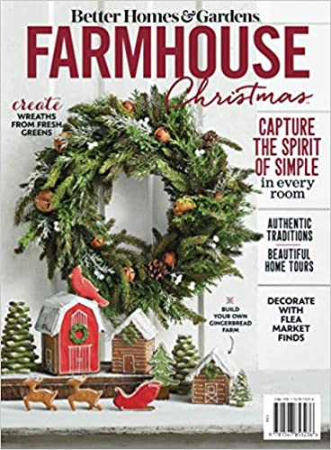 Bhg Farmhouse Christmas 2020 Farmhouse Christmas: The Editors of Better Homes and Gardens