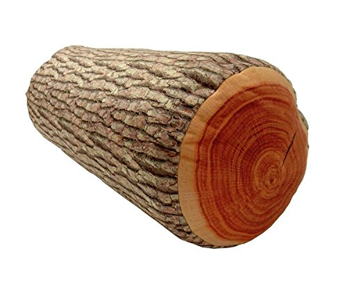 3D Wood Log Soft Cushion Throw Pillow Stuffed Plush Home Decor Kt00001   We Pay Your Sales Tax