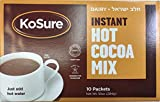 KoSure Dairy Instant Hot Cocoa Mix 10 Packets Net Wt. 10oz