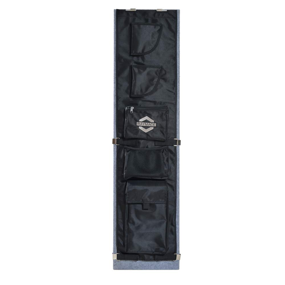 Raymace Large Gun Safe Door Panel Organizer 10 3/5-13 2/5W Inch 43 4/5H inch Adjustable Storage Solution for Long Gun Safe Cabinet by Raymace
