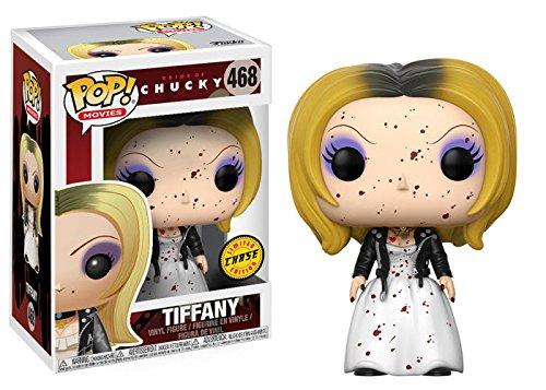Bride Pop - Funko Pop! Horror: Bride of Chucky - Tiffany Chase Variant Vinyl Figure (Bundled with Pop BOX PROTECTOR CASE)