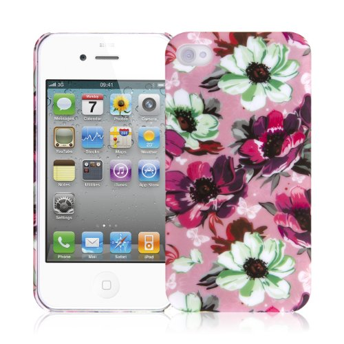 EMPIRE Signature Series One Piece Slim-Fit Case Tasche Hülle for Apple iPhone 4 / 4S - Vintage Pink