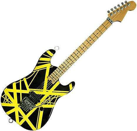 EVH003 EVH Minature Guitars EVH Black /& White Mini Replica Guitar Van Halen