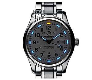 Gosasa tritium luminous military dive sports waterproof quartz mens watch watches for Tritium dive watches