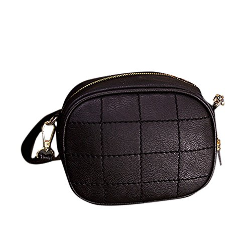 Remeehi, Borsa a tracolla donna nero Black small