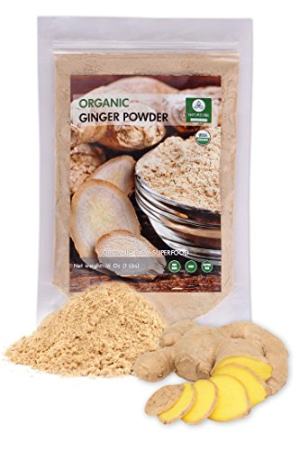 Price comparison product image Organic Ginger Ground or Powder (1lb) by Naturevibe Botanicals, Gluten-Free, Raw & Non-GMO (16 ounces)