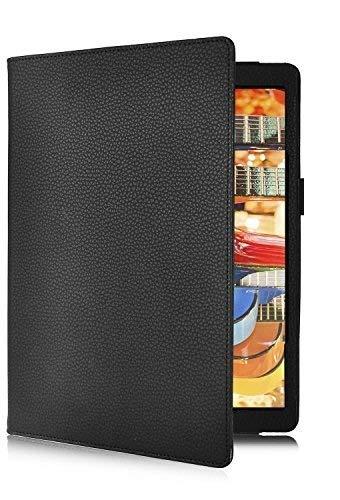 sports shoes 100b4 3ff6c SmartLike Lenovo Yoga Tab 3 10.1 inch (Black) Folio Leather TAB Flip ...