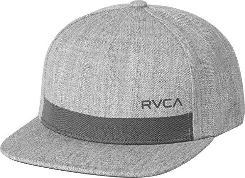rvca-mens-sea-drift-snapback-hat-grey-heather-one-size