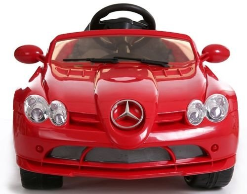 Licensed mercedes benz slr mclaren 722s 12v kids boys for Mercedes benz ride on car with remote control