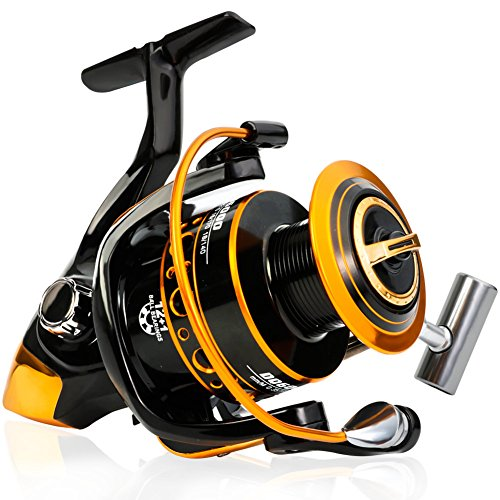 Burning Shark Fishing Reel - Carbon Fiber 25...