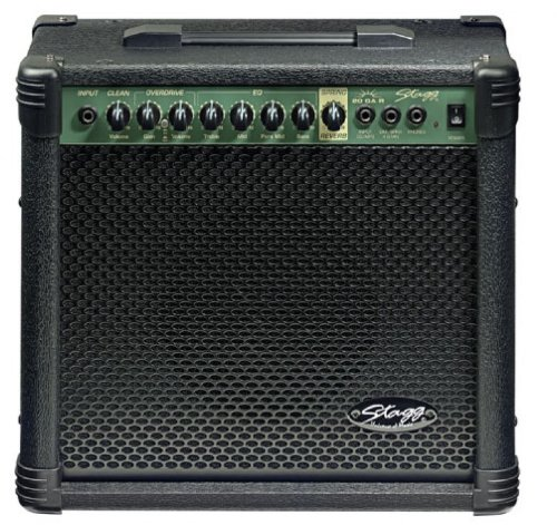 Stagg 20 GA R USA 20-Watt Guitar Amplifier with Spring Reverb