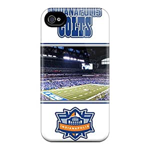 IanJoeyPatricia Iphone 4/4s Scratch Resistant Hard Phone Case Custom Nice Indianapolis Colts Skin [Wsq2121Ufgy]