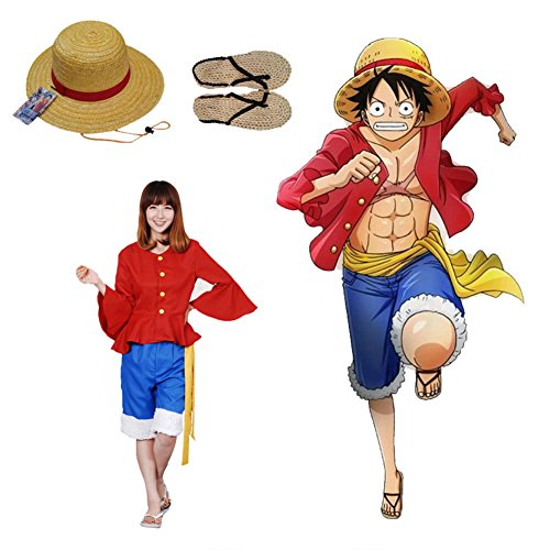Shanks Cosplay Costumes - Weimisi One Piece Anime Monkey D