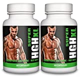 SUPER HGH XL by Natural Answers - 2 Month Supply - Muscle Growth & Strength - Super Advanced Formula - UK Manufactured by Natural Answers