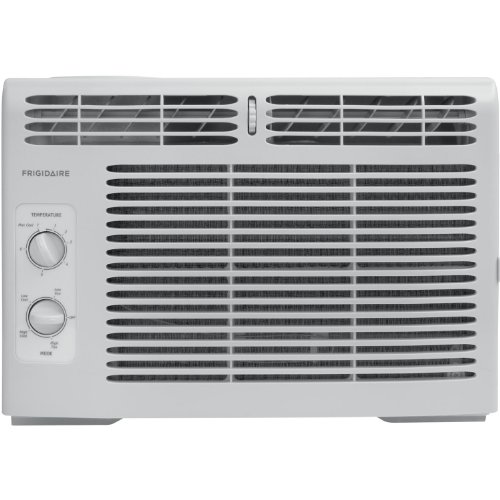 (Frigidaire 5,000 BTU 115V Window-Mounted Mini-Compact Air Conditioner w/ Mechanical Controls, FFRA0511Q1)