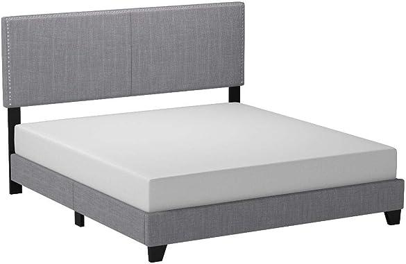 Crown Mark Erin Upholstered Panel Bed