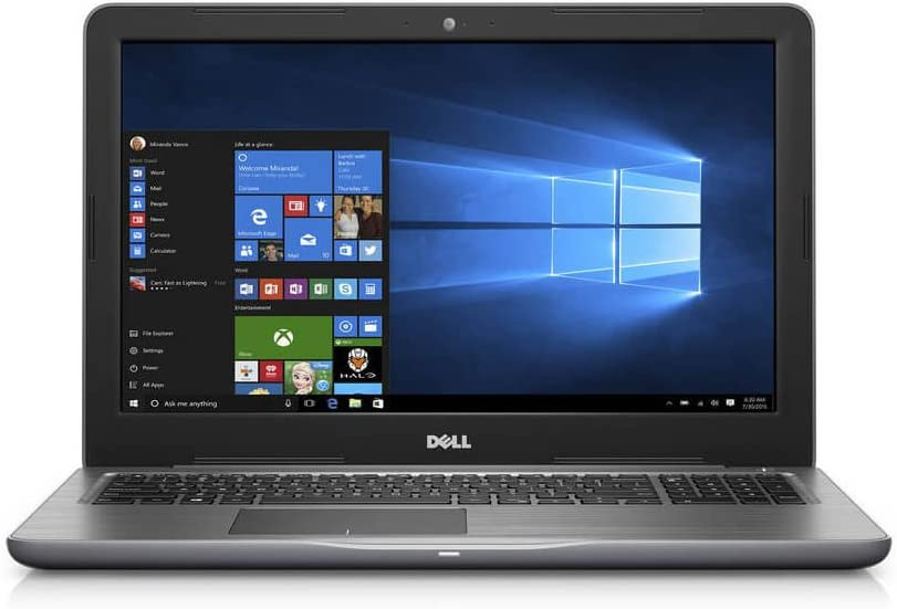 "Dell Inspiron 15 5000 Laptop, 15.6"" Screen, Intel Core i7, 12GB Memory, 1TB Hard Drive, Windows 10 Home"