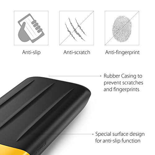 Silicon Power 1TB Rugged Armor A65 IP67 Shockproof/Waterproof USB 3.0 2.5-inch Military Grade Portable External Hard Drive for PC, Mac, Xbox One and Xbox 360, Black by Silicon Power (Image #3)