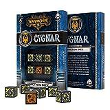Q WORKSHOP Warmachine Cygnar Faction RPG Dice Set 6 x D6