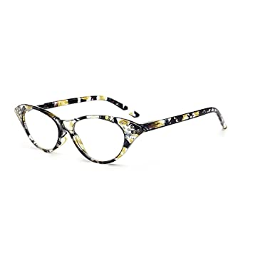 Amazon.com : ForHe Reading Glasses with Colorful Frames, Ladies ...