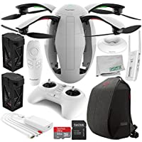 PowerVision PowerEgg Drone with 360 Panoramic 4K HD Camera and 3-axis Gimbal with Maestro + PowerVision Backpack Essential Bundle