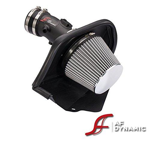 Af System (AF Dynamic Air Filter intake Systems for Maxima 09-16 3.5 3.5L VQ35de + Box Heat Shield)