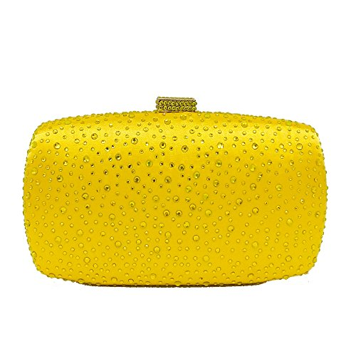 Sac Pour Cheongsam De Banquet Sac Sac à yellow Robe Diamond Sac à Dames Soirée De Fashion Chaîne Dîner Sac Hot D'embrayage Main Mariée 6qwTTEd
