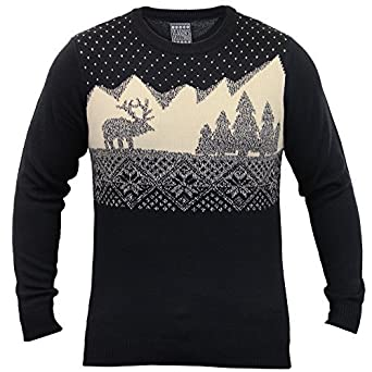 2f2b56f173cf Seasons Greetings Men s Christmas Jumper 1A8372 Navy UK 2X Large US X Large