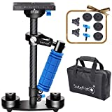 "Sutefoto Camera Stabilizer Handheld Gimbal Carbon Fiber 15""/38cm DSLR Steadicam with Quick Release Plate 1/4"" Screw for Camera Nikon Canon/Sony/Panasonic and Video DV up to 2.87lbs/1.3kg"