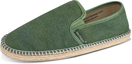 Gr 46 Klassische Flache Khaki 1 normani Freizeitschuhe Espadrillas Style Sommer für Stoffschuhe 36 Damen Schuhe und Herren nqnWOPxp